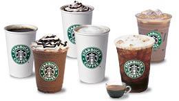 Starbucks prijzen